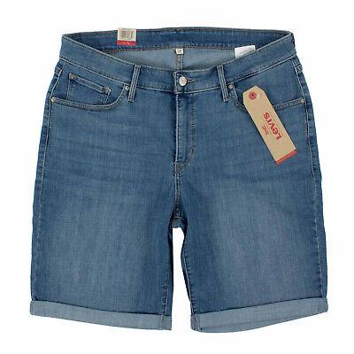 LEVI'S Damen Jeans Shorts 23646 0011 Shaping Bermunda 18W (48) kurze Hose | eBay