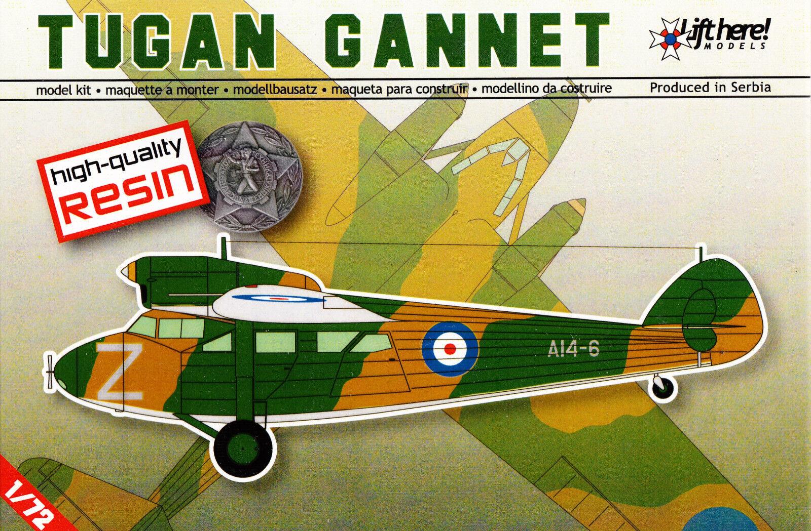 Lhm046  Lift Here Models - Tugan Aircraft - LJW7  Gannet  - Resin - 1 72