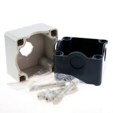 22mm Hole Emergency Stop Push Button Switch Box Waterproof Plastic Control