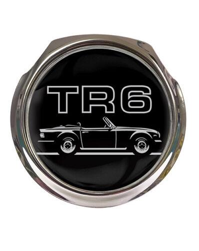 TRIUMPH TR6 coche insignia coche insignia de la parrilla sin Fijaciones