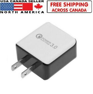 Quick-Charge-3-0-USB-3Amp-Super-Fast-Wall-Home-Mobile-Phone-Fast-Charger-Adapter