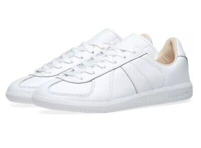 adidas Originals BW Army Men's Premium Leather Trainers Vintage Sneakers White   eBay