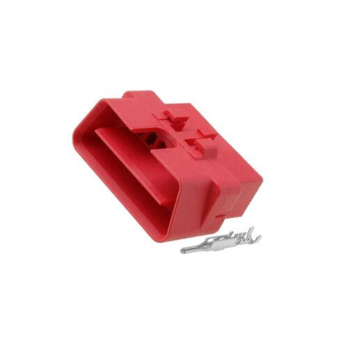 361315 Gehäuse für Steckverbinder Stecker OBD PIN 16 16 polig