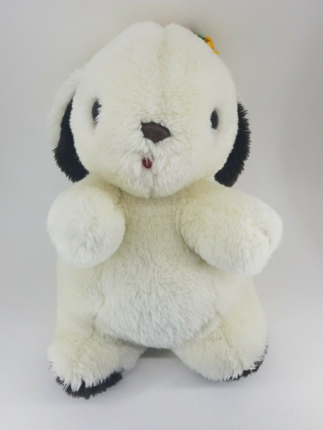 GUND VINTAGE 1976 LUV ME EASTER BUNNY RABBIT RATTLE STUFFED ANIMAL PLUSH TOY