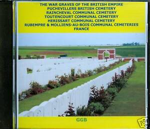 WAR-GRAVES-OF-PUCHEVILLERS-BRITISH-OTHERS-FRANCE-CD