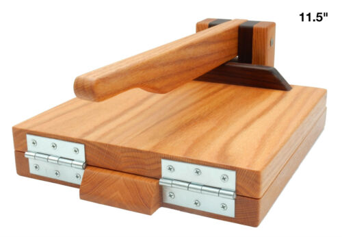 Red Oak and Walnut by Central Coast Woodworks NEW Wood Tortilla Press Maple