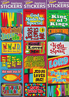 90 Christian Applause Stickers, Names Of God, Wwjd, His Love, Bible Study Reward