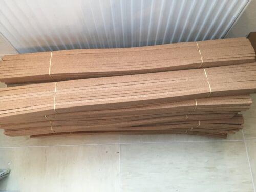 50 Stück Korkstreifen Kork 90 cm 10x10 Dehnfuge Fuge Parkett Modellbau Fugenkork