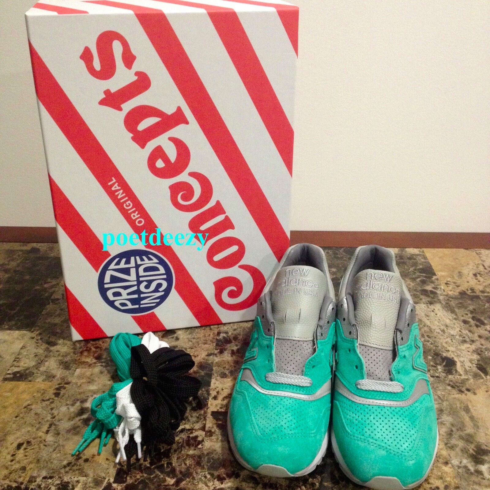 CONCEPTS X NEW BALANCE 997 NYC New York City Rivalry Size 7.5 8 8.5