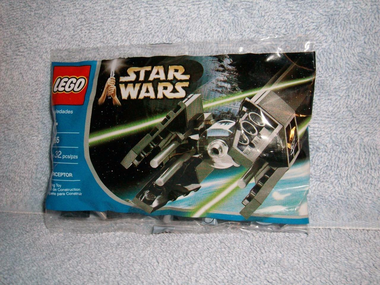 Mini Tie Interceptor Lego Star Wars Episode VI Return Jedi 6965 32 pcs 2005 New