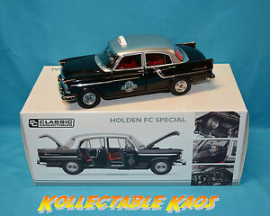 1-18-Classics-Holden-FC-Special-Taxi-Silver-Top-BRAND-NEW