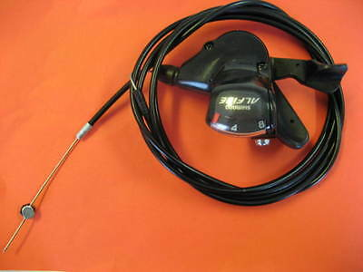 Case 82 11//16in Gear Shifter SL-S503 Trigger Shimano Alfine 8-Gang Black Train