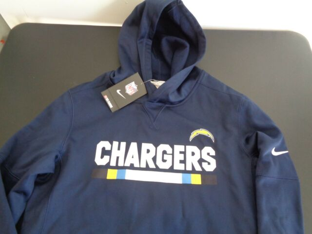 quality design 94592 a159c Los Angeles Chargers Therma-fit Nike Youth XL Hoodie Sweatshirt NFL FREESHIP