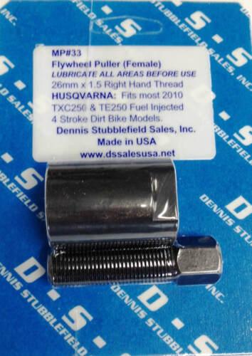 MP#33 26mm x 1.5 RH TM Husqvarna DSS Flywheel Puller