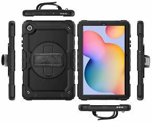 COVER per Samsung Galaxy Tab s6 Lite Custodia Protettiva Case Borsa ibrido Shock