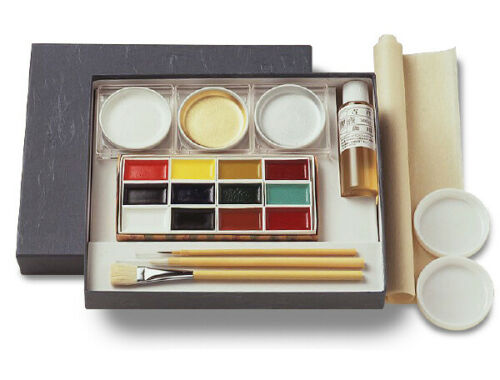 Kissho Gansai Japanese Watercolor Paint starter kit indian ink Japan