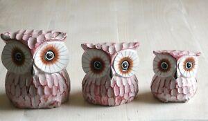 Balinese-Set-of-Three-Wooden-Owls