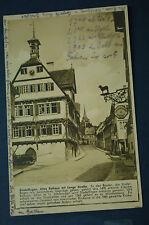 SINDELFINGEN - ALTES RATHAUS - cachet au versdo du 22. 8. 49. (1949)