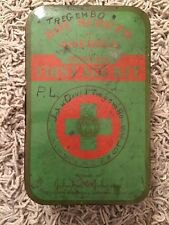Vintage WWII Era BSA Boy Scouts Of America Official First Aid Kit W/ Latch