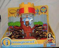 Fisher Price Imaginext Dc Super Friend Wonder Woman Themyscira Island Castle