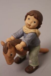 Goebel-Nina-Marco-Limpke-Horseman-Rider-Game-Horse-Wood-Children-039-s-Toys-Child