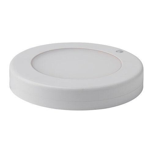 Ikea Stötta Stotta Led Ceiling Wall Light With Sensor Battery Operated 20cm For Online Ebay
