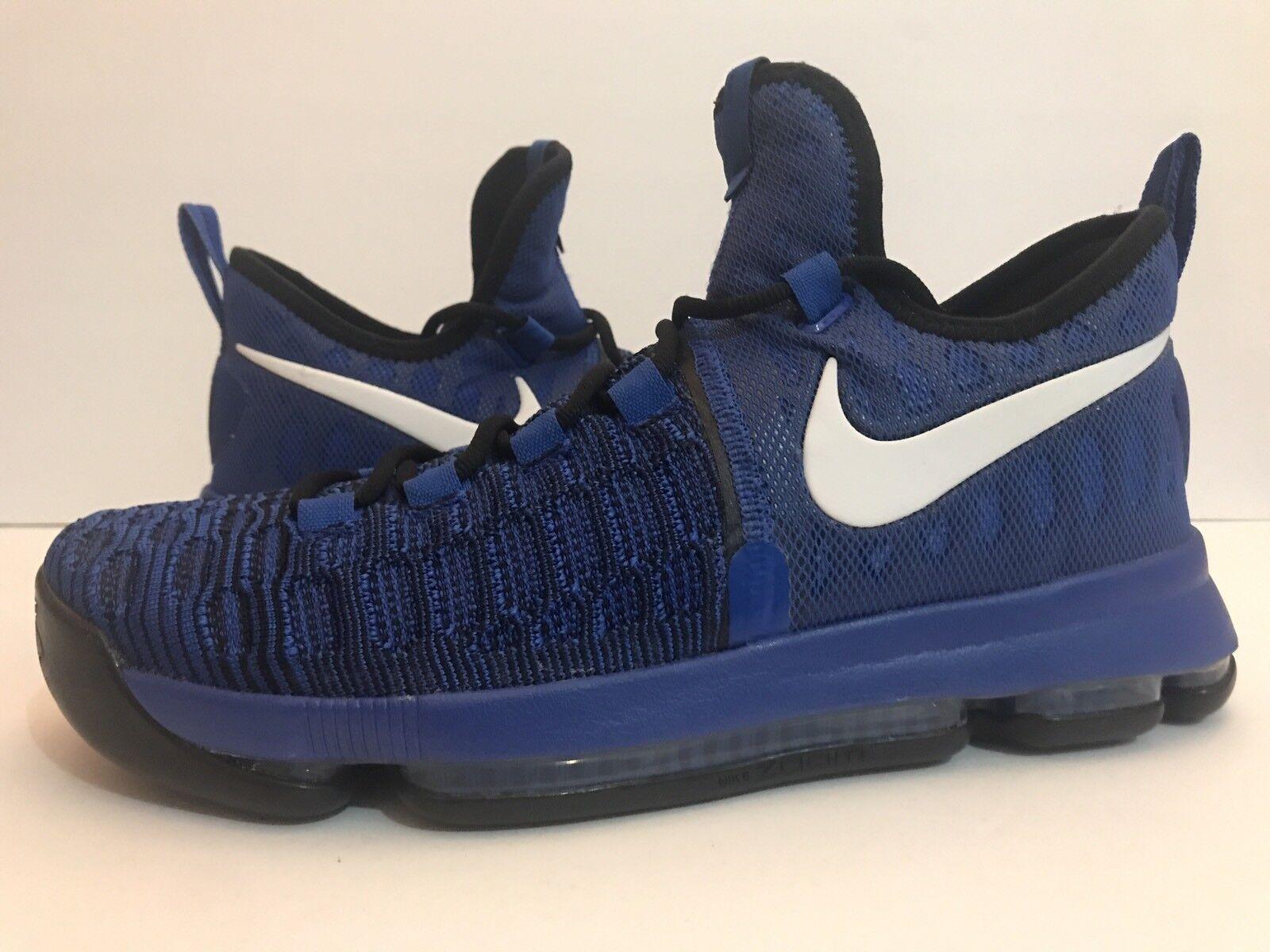 Nike Zoom Air KD On Court FlyKnit Warriors  843392-410 Sz 10