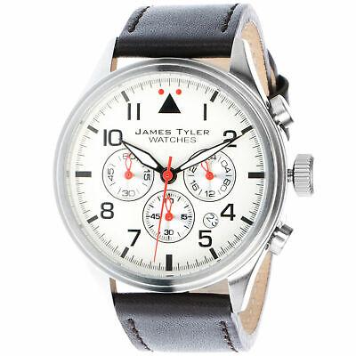 Jt Herren Fliegeruhr Jt706 3 Chronograph Seiko Epson Uhrwerk Military Uhr Ebay