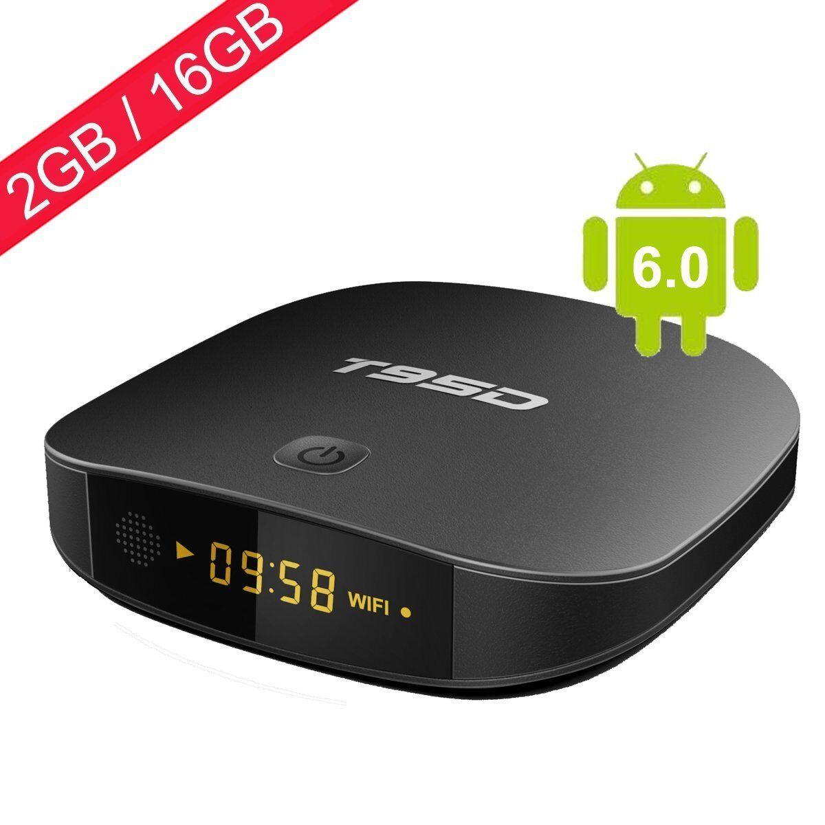 Android 6.0 TV Box 2GB RAM 16GB ROM Quad Core Supporting 4K – HD W/ WiFi LAN