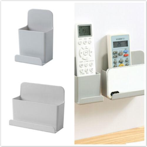 Wall Mounted Organizer Storage Box Remote Control Air Conditioner Container Case