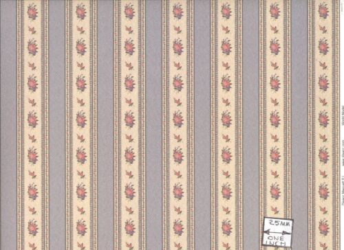 Gofrado Decorative 34553 wallpaper World /& Model dollhouse 1pc 1//12 scale