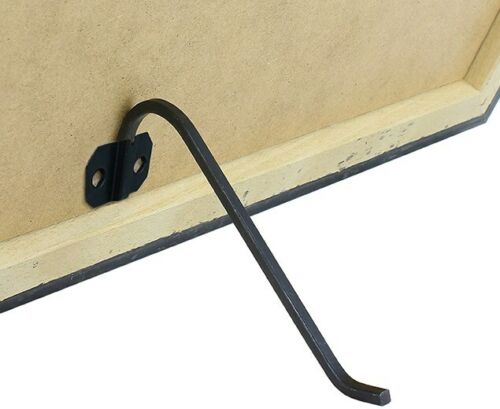 PRESS FIX SOCKETS FOR SQUARE WIRE STANDS BLACK PICTURE FRAME BACKS STAND MDF