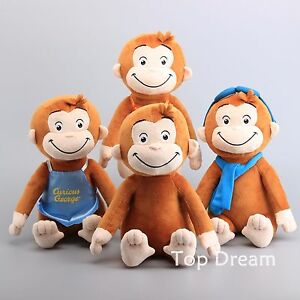 CURIOUS-GEORGE-The-Monkey-Plush-Toy-Soft-Stuffed-Animal-Doll-12-039-039-Kids-Gift