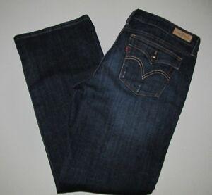 Levi's Boot Jean Low Cut Femme Bleu Taille 14 545 stretch qtRt1X
