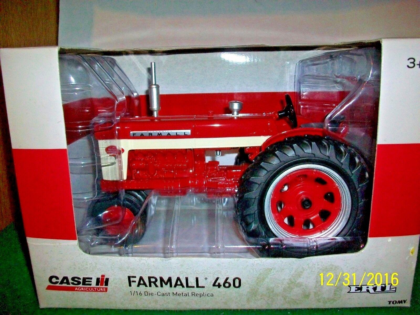 2016 Tractor Case IH Farmall 460 Ertl Escala 1 16