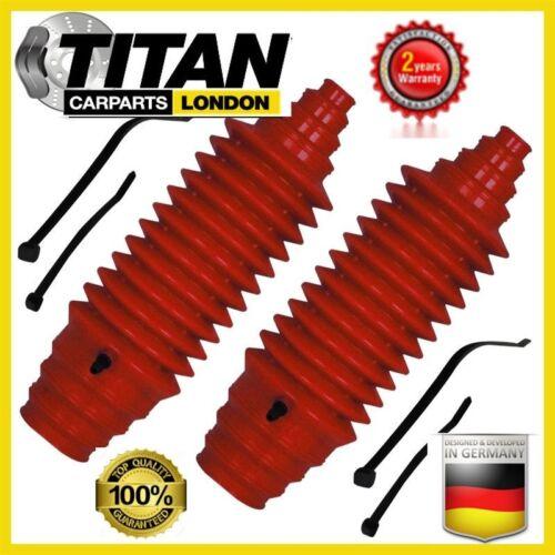 Bota De Dirección Universal Para Polaina Kit Rojo Silicona Con Uniones De Cables Paquete De 2