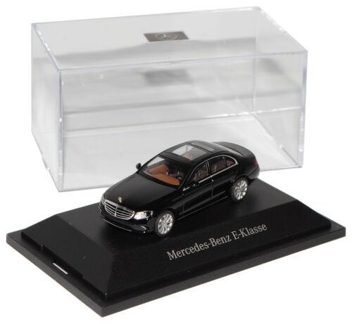 Mercedes-Benz E-Klasse W213 Limousine Schwarz H0 1//87 Wiking Modell Auto mit ode