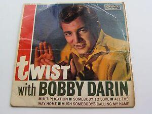 BOBBY-Darwin-ORIGINAL-GB-1960-London-E-P-Twist-con-Bobby-DARWIN
