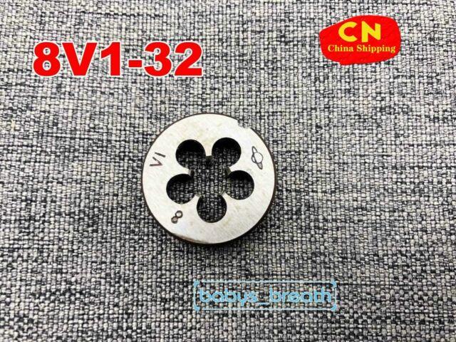 1pcs 8V1 die Schrader Tyre Valve Thread Threading Tools  8V1 (4 hole)