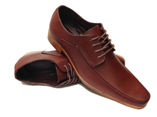 Mens Lightweight Smart Wedding Dress Lace Up Boxed Formal Shoes Size 6-11