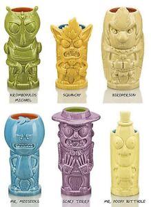 Rick-and-Morty-Ceramic-Geeki-Tiki-Set-of-6