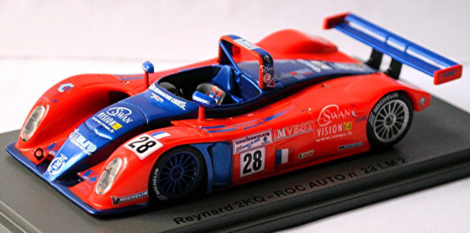 Reynard 2KQ ROC bil LEMANS 2002 GENE   SMITHSON   OW 1 43 Spark
