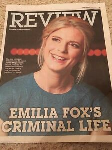 Details about SUNDAY EXPRESS REVIEW OCTOBER 2016 EMILIA FOX PHOTO COVER  INTERVIEW