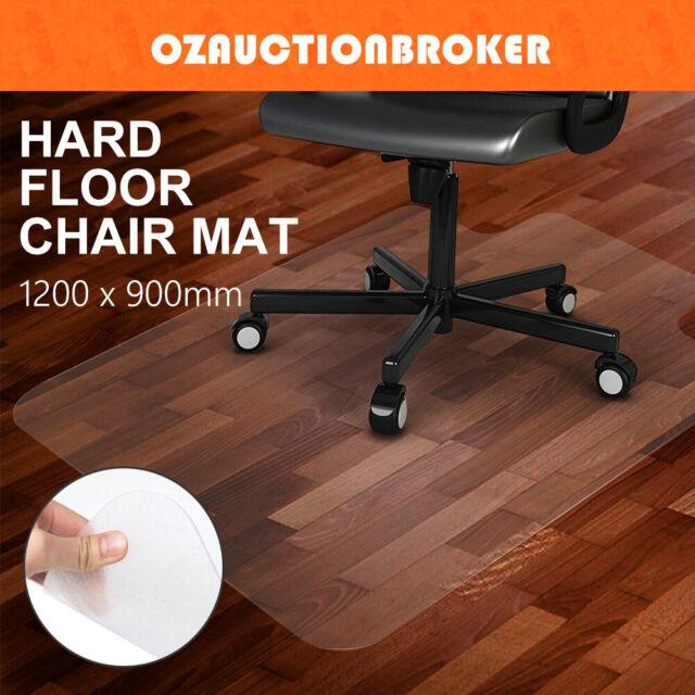 Office Mat Computer Work Chair Wood Carpet Floor Vinyl Protector 1350 X 1140mm