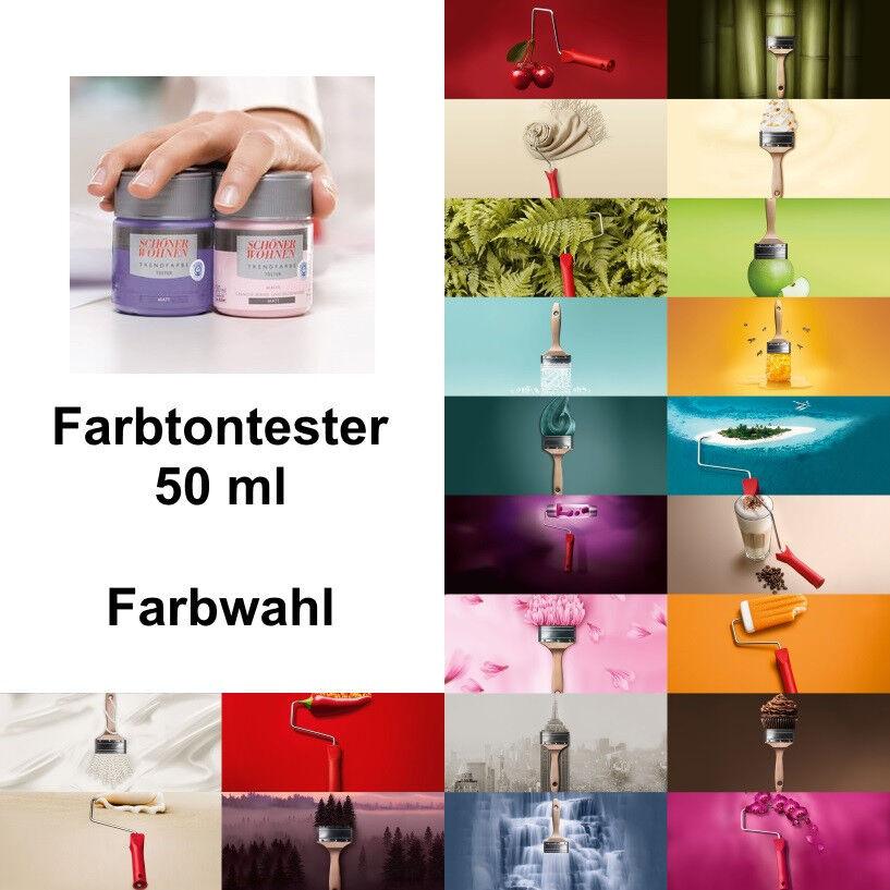 Details zu Schöner Wohnen Trendfarbe Farbtontester 50 ml ABSOLUTE NEUWARE  OVP