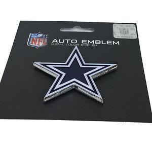 New-NFL-Dallas-Cowboys-Auto-Car-Truck-Heavy-Duty-Metal-Color-Emblem