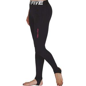 Take-Five-para-mujer-Skin-Tight-Compresion-Capa-Base-Estribo-Leggings-Negro-105