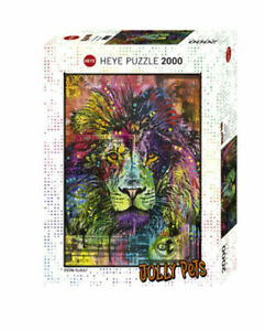 Heye Puzzles - 2000 piece Jigsaw Lion's Heart (Jolly Pets) HY29894