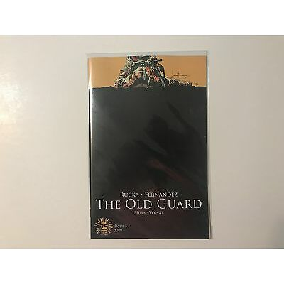 The Old Guard #5 (2017) NM Image Comics 1st Print