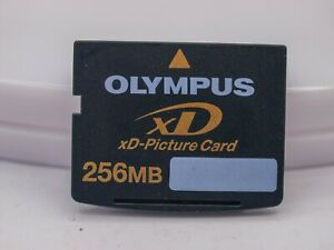 Olympus XD Picture Card 256mb 256 Megabyte Flash By Toshiba Fujifilm - Formatted
